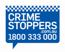 Crime Stoppers 1 800 333 000